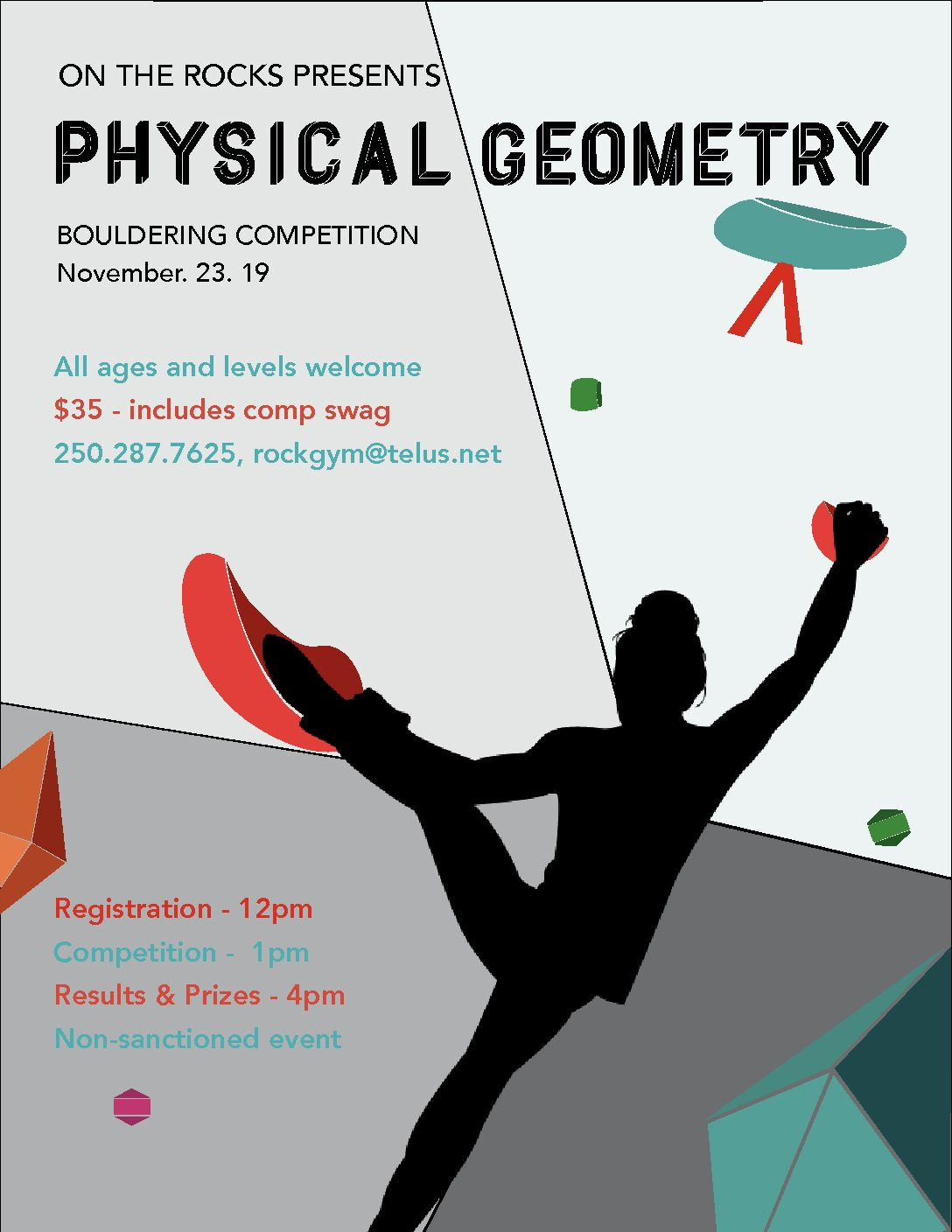Physical Geometry Bouldering Comp